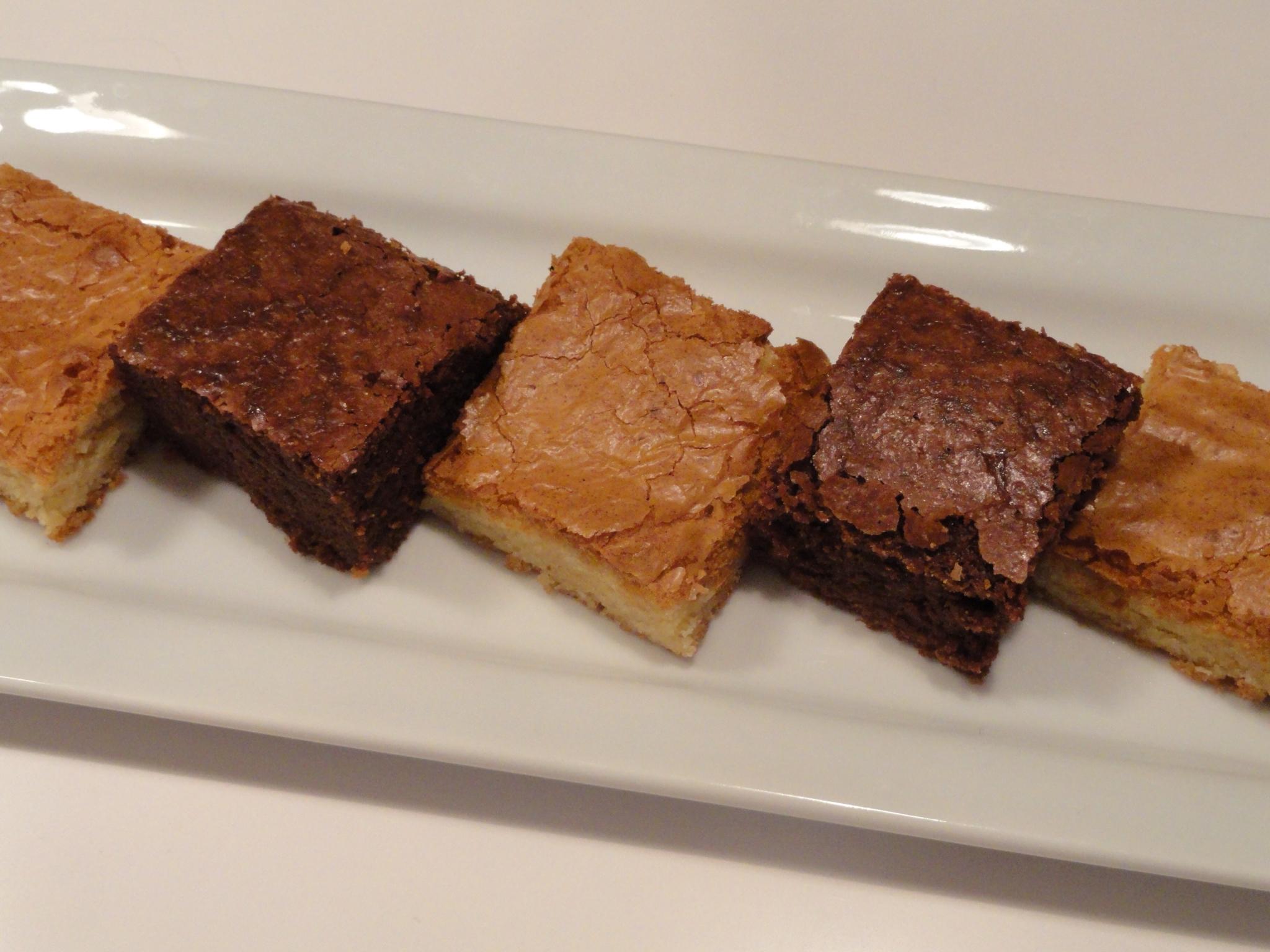 Food, Glorious Food!: White and Dark Chocolate Brownies