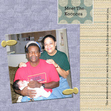 Photo: Created 10/31/06 using a freebie kit by Katie Pertiet.  Paper fastener from Jan Hosford's Fancy Schmancy Kit.  Layered template from Patti Knox.