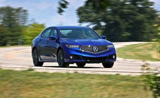 2018 Acura TLX - comfort and capability