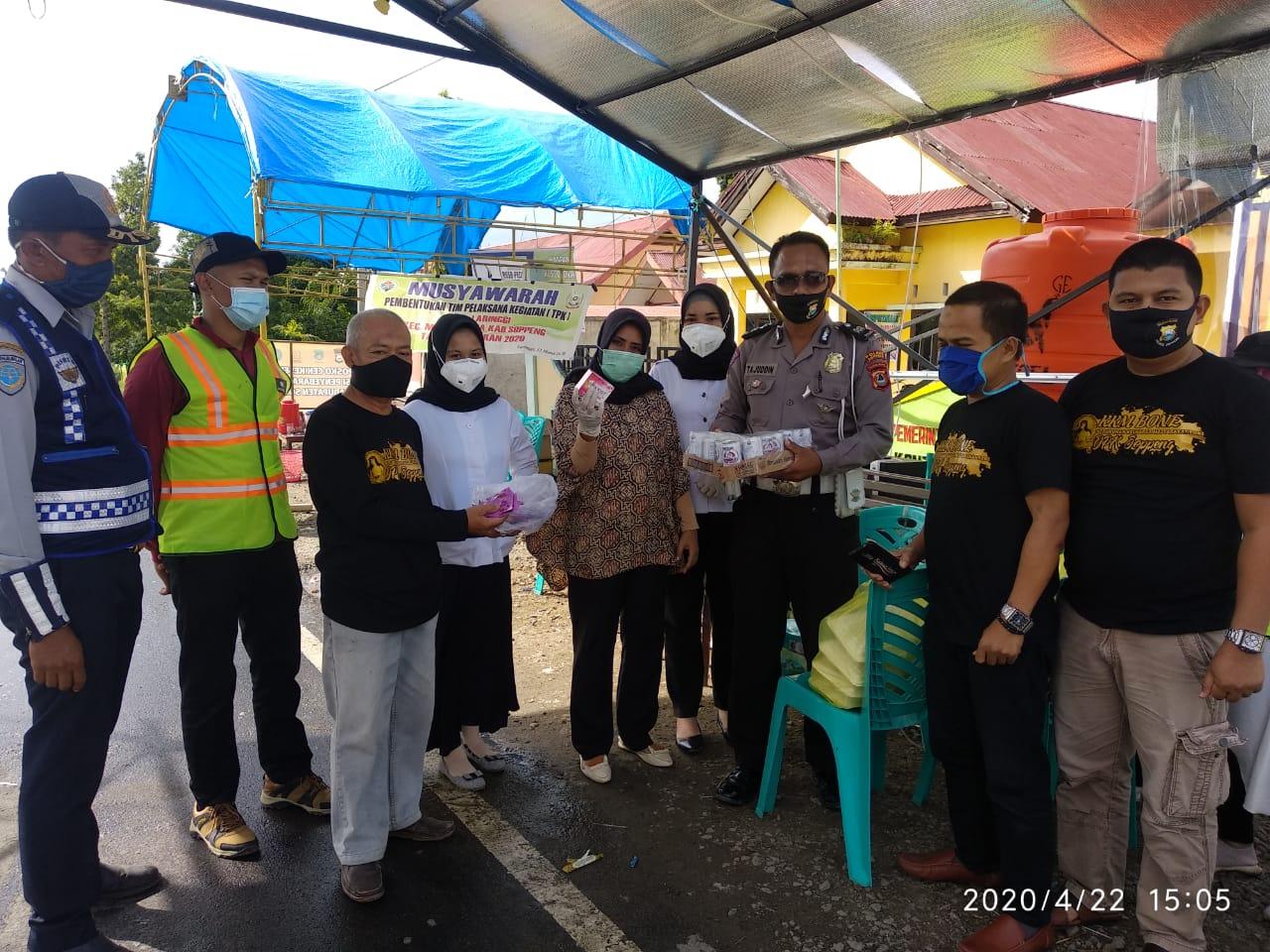 Kerukunan Keluarga Masyarakat Bone DPK Soppeng  peduli COVID 19 .