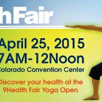 9Health Fair Yoga Open - April 25th 2015