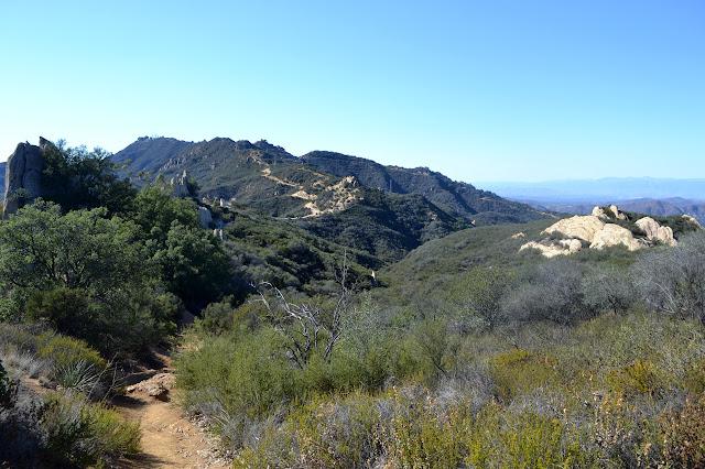 road to Castro Peak