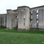 Château de La Ferté-Milon : façade extérieure