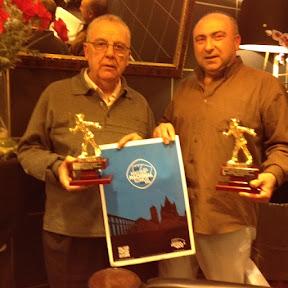 Juan Antonio Rojo y Antonio Cubillo, Campeones del Carnaval Guadalajara