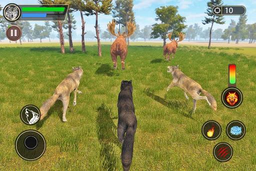 Wolf Simulator: Wild Animal Attack Game 1.0 de.gamequotes.net 2