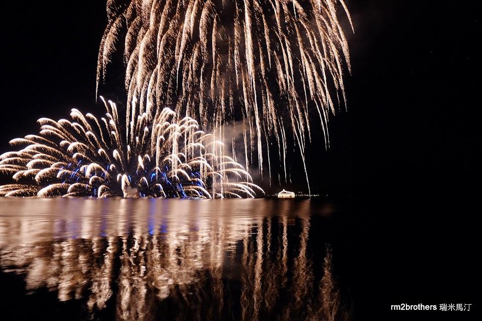洞爺湖花火