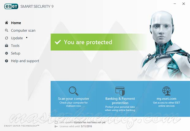 ESET Smart Security (32 bit) 11.2.49.0 full