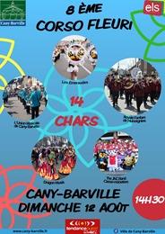 corso fleuri Cany Barville 2018