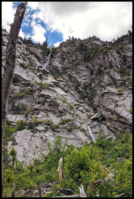 Top and Bottom View of Coalpit Gulch Waterfall