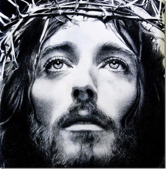 rostro de jesus en blanco y negroif (4)