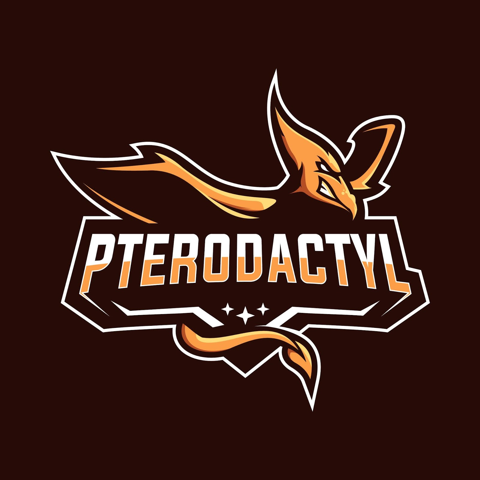 Pterodactyl Esport Mascot Logo Free Download Vector CDR, AI, EPS and PNG Formats