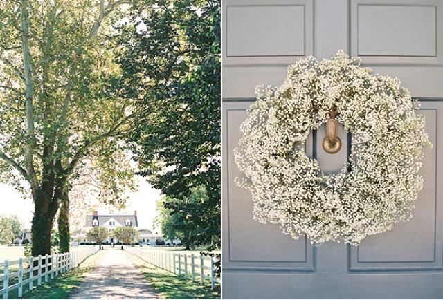 Decoracion de boda con paniculata