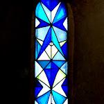 Chapelle Saint-Blaise-des-Simples : vitrail sud