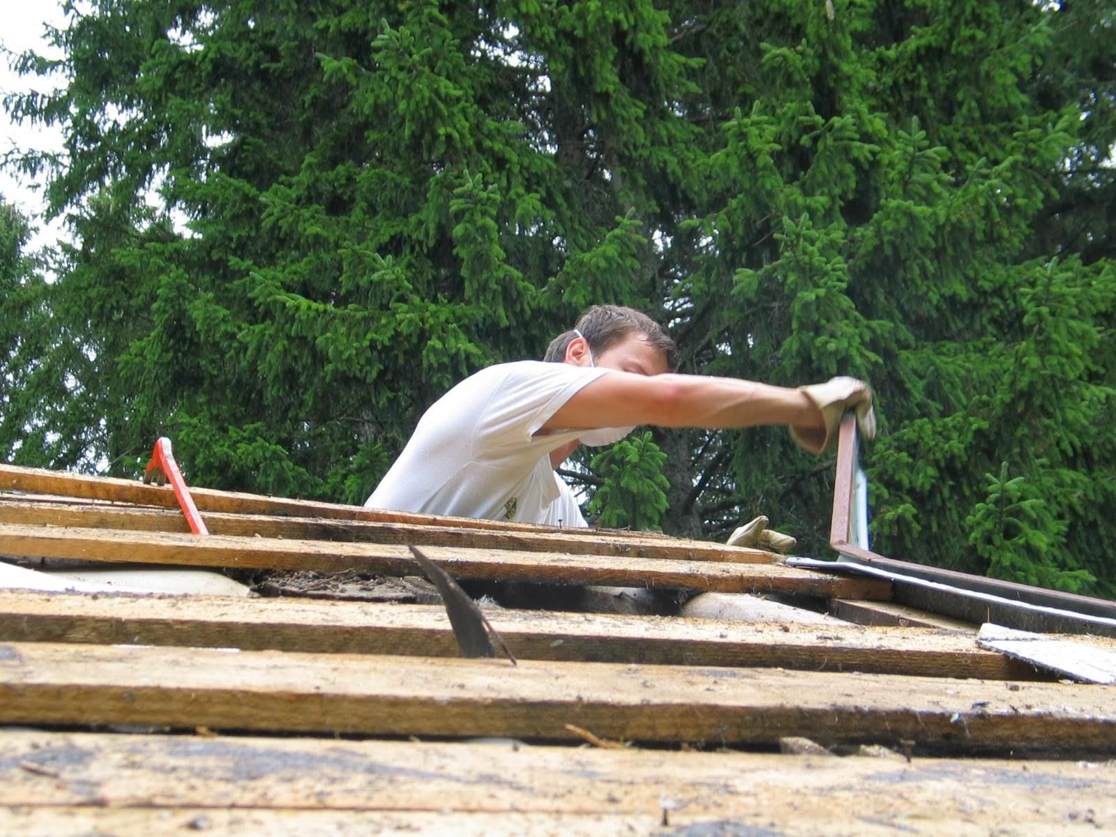 Delovna akcija - Streha, Črni dol 2006 - streha%2B071.jpg