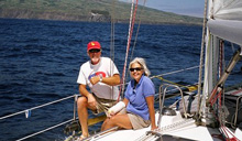 J/42 cruising sailors- Bill & Judy Stellins on JayWalker