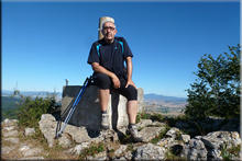 Itxogana mendiaren gailurra 1.063 m.  --  2016ko uztailaren 16an