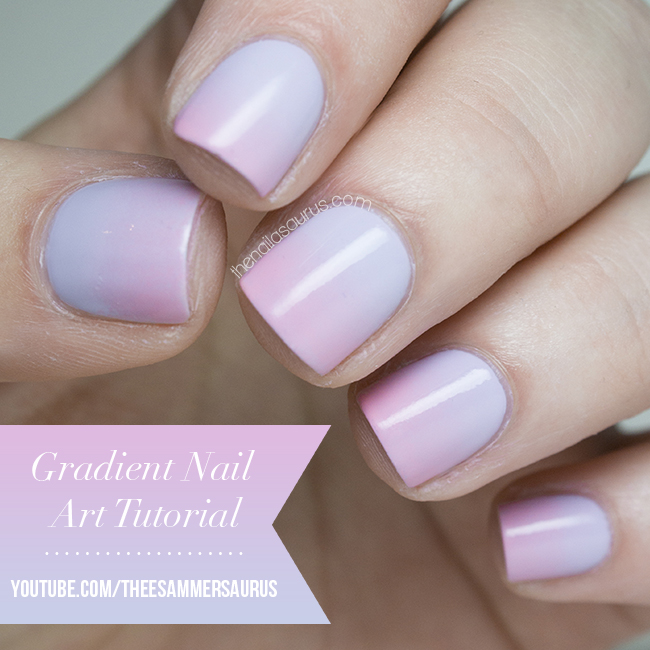 Gradient Nail Art Video Tutorial