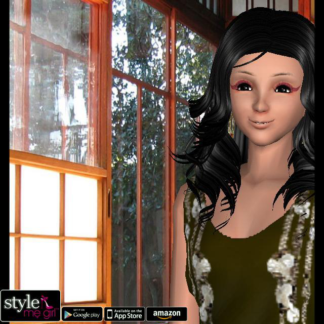 Style Me Girl Level 38 - Ethnic Catwalk - Mia