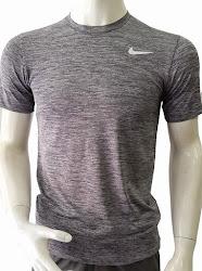 Áo thun thể thao nam cao cấp Nike xám-đen