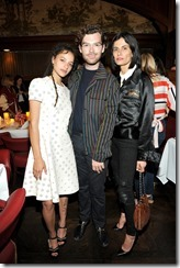 HOLLYWOOD, CA - MARCH 30:  (L-R)   Actor Sasha Lane, Vogue west coast associate Cameron Bird, and stylist Maryam Malakpour attend the Coach & Rodarte celebration for their Spring 2017 Collaboration at Musso & Frank on March 30, 2017 in Hollywood, California  (Photo by Donato Sardella/Getty Images for Coach)
