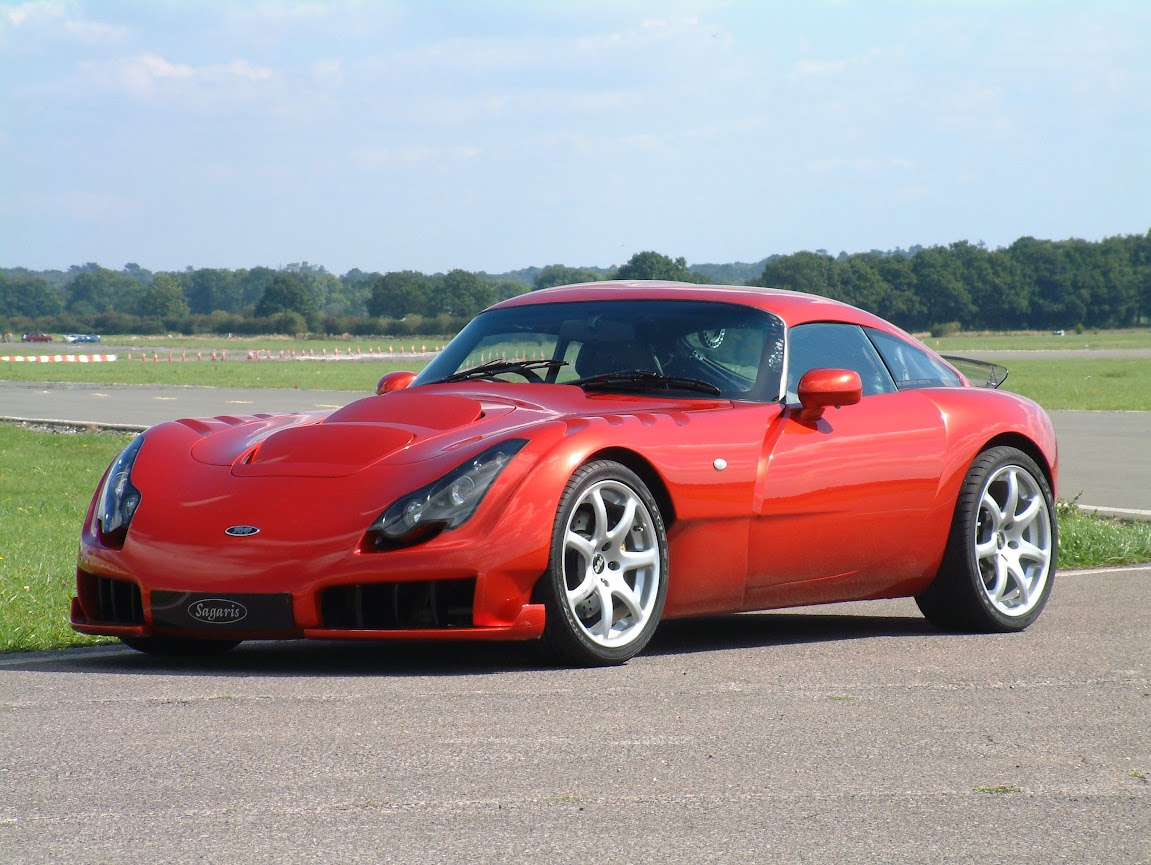 TVR Sagaris - Dan Boardman was development engineer