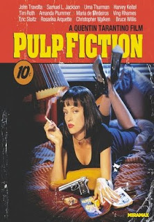 the influence of violence and punishment in the movie pulp fiction His new movie pulp fiction is a comedy about blood, guts, violence, strange sex, drugs, fixed fights, dead body disposal, leather freaks, and a wristwatch that makes a dark journey down through the generations.