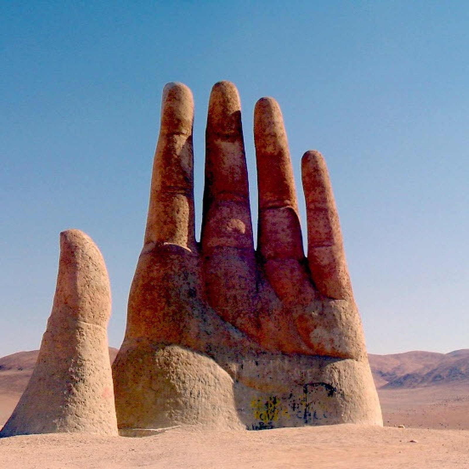 Giant Hand Sculptures Around The World