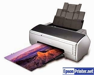How to reset Epson R2400 by software
