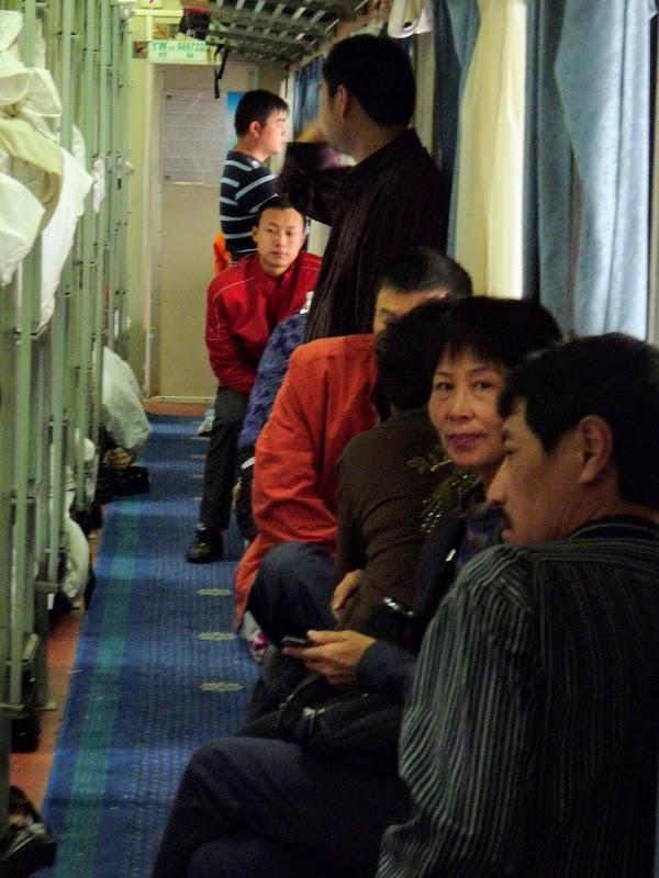 De Xiamen à Wuhi shan.14 heures de train couchette à l' aller et autant pour le retour.à Quanzhou..