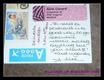 postcard, souvenir