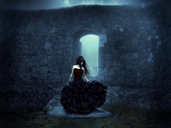Black Dress Sorrow, Magic Beauties 2