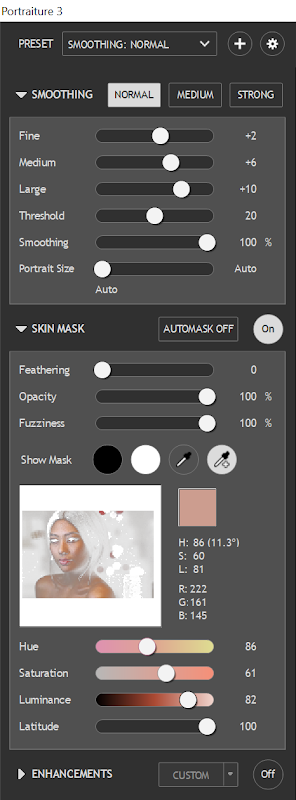 Imagenomic Portraiture 3 - New UI Controls