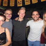 Euro crew at Brickyard bar in Kaohsiung, Taiwan in Kaohsiung, Kao-hsiung city, Taiwan