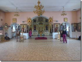 Preobrazhensky sobor interieur