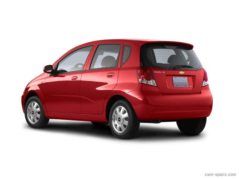 2006 chevrolet aveo hatchback specifications pictures prices. Black Bedroom Furniture Sets. Home Design Ideas