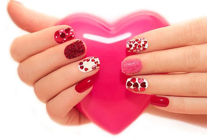 Jeweled Nails Art Design