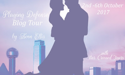 Blog Tour and Review - Playing Defense by Aven Ellis