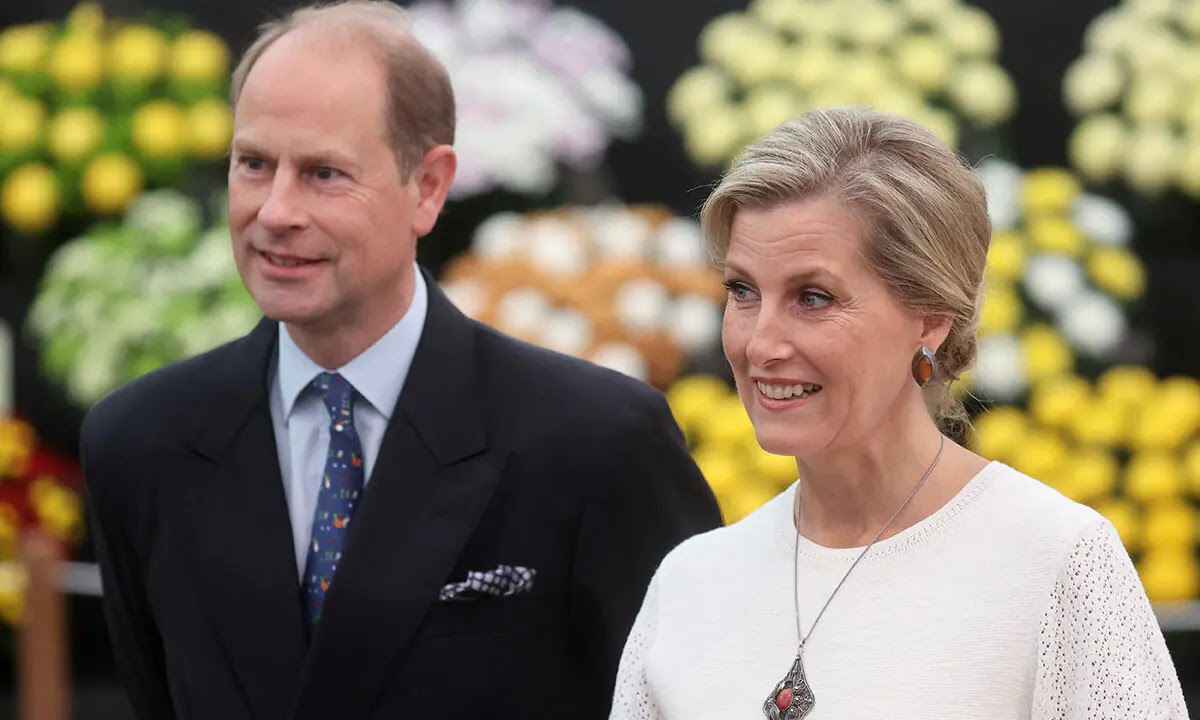 Prince Edward and Sophie visit the Queen's Northern Ireland Home