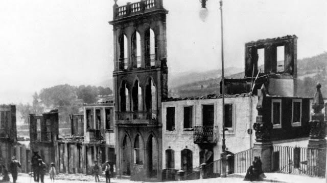 Nascimento da Rua de Almacave Vítima de um grande incêndio no dia 26 de Junho de 1911