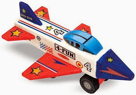 Chiếc máy bay sau khi được thiết kế tuỳ theo trí tưởng tượng của bé