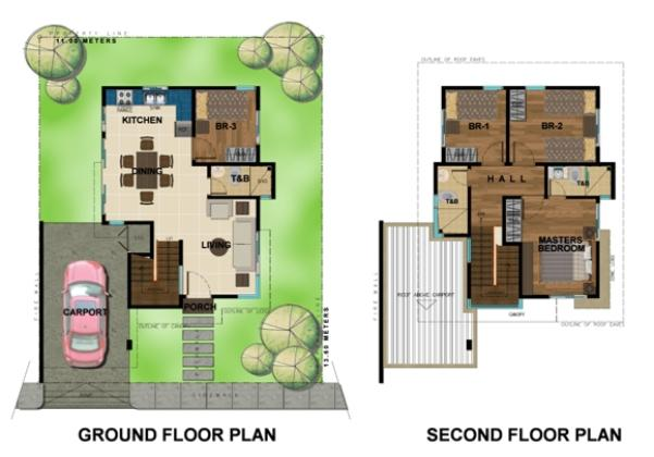Bambu Estate Maki Floor Plan