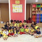 Laughter Day celebrated in Playgroup at Witty World