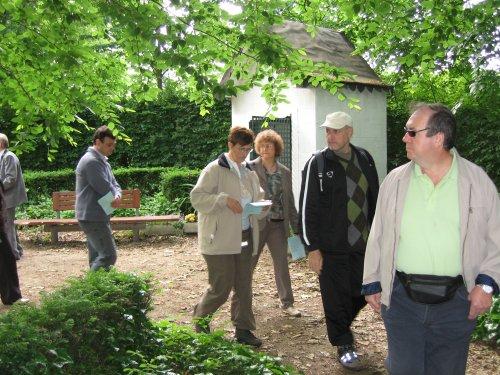 Weg Om rond de K(christelijk) van KWB met Frans Jacobs (2de van rechts).