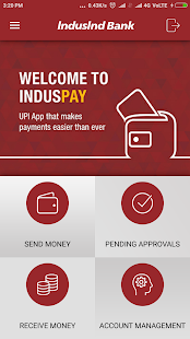 IndusPay UPI App- screenshot thumbnail