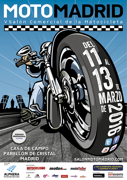 Feria MotoMadrid 2016, el Salón Comercial de la Motocicleta