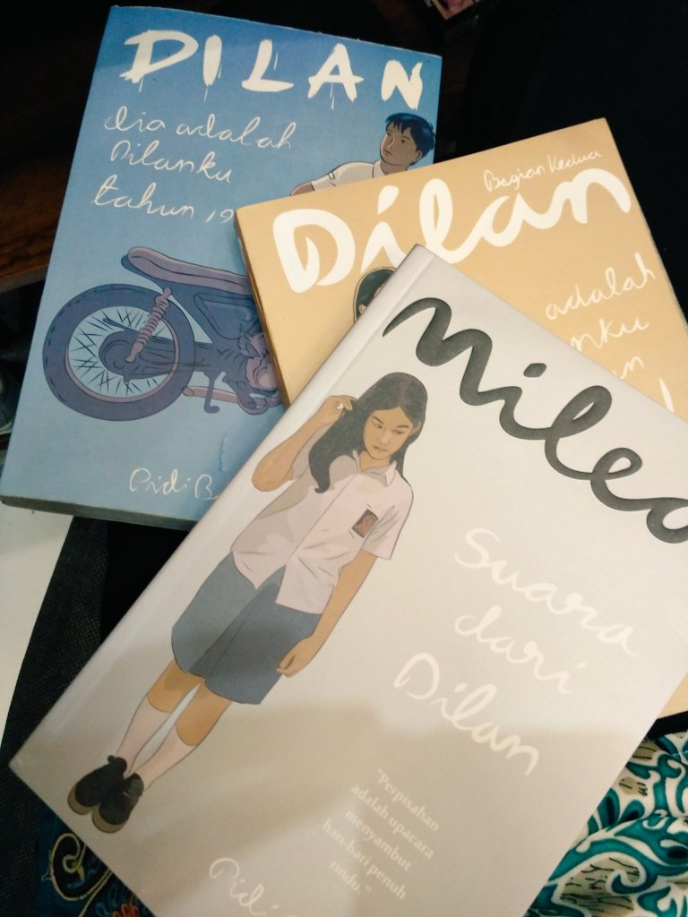 Pengalaman Membaca Novel Dilan Remaja Muslimah