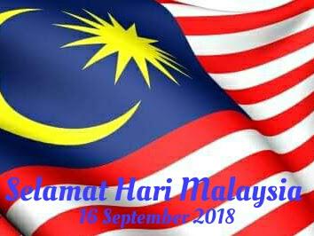 SELAMAT HARI MALAYSIA 2018