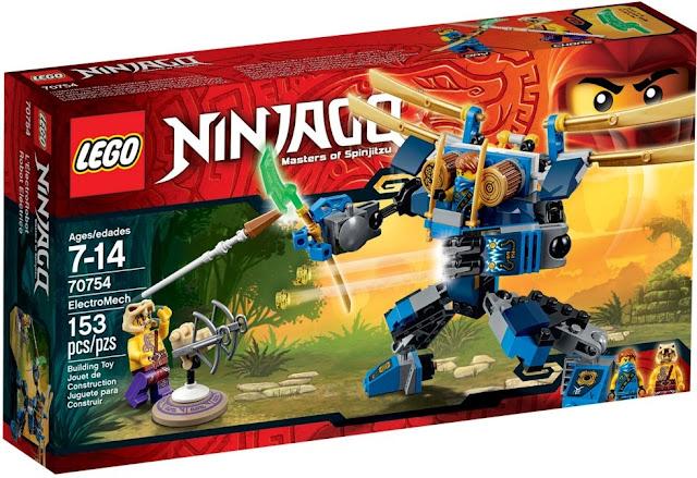 Vỏ hộp sản phẩm lego ninjago 70754 electromech
