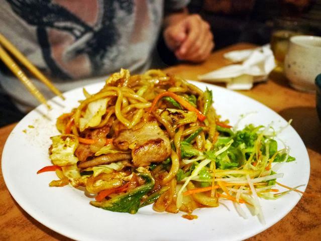 達人帶路-環遊世界-尼泊爾-桃太郎中華炒麵