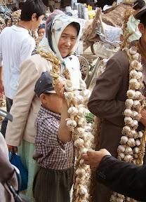 Au marché de Kasghar
